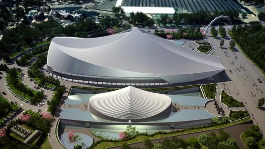 Yuan Ze Arts and International Conference Hall. Image © Santiago Calatrava LLC