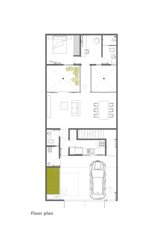 Floor Plan Ground Floor 1.100