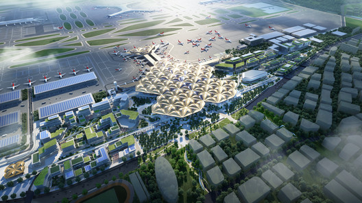 Grimshaw Wins Competition to Transform Shenzhen Airport Terminal into Green Hub