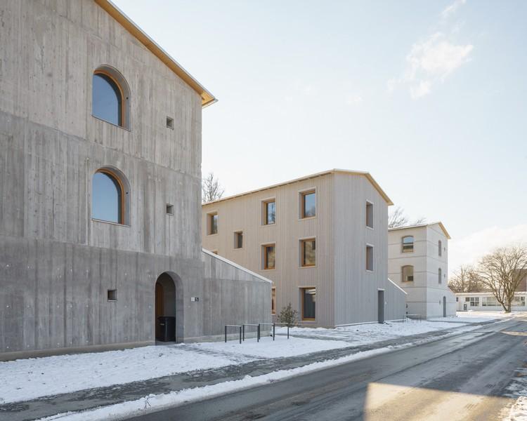 Casas de investigación Bad Aibling / Florian Nagler Architekten, © PK Odessa