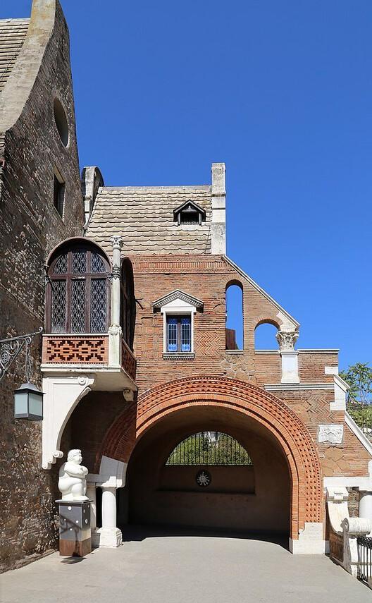 Casina delle Civette nella Villa Torlonia, em Roma. Créditos: Sailko em Wikimedia Commons