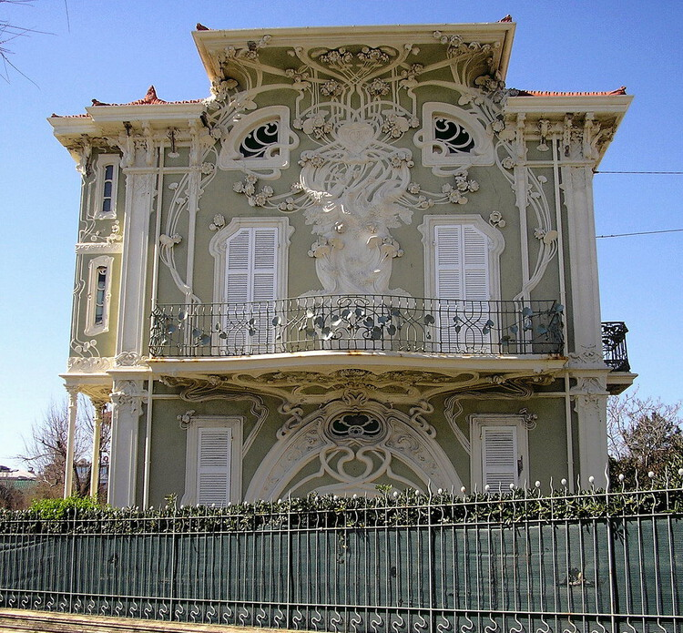 Villino Ruggeri, em Pesaro. Obra do arquiteto Giuseppe Brega. Créditos: Andrea Speziali em flickr