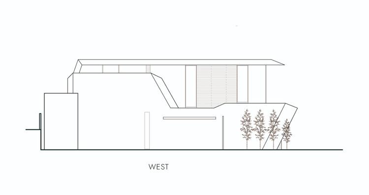 Elevation - West