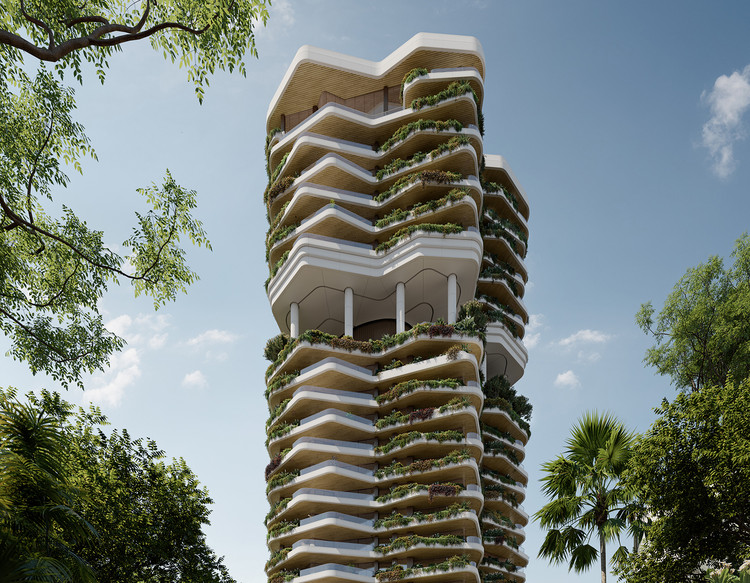 PLP Architecture Reveals Design for Residential Development in Singapore, Courtesy of PLP Architecture
