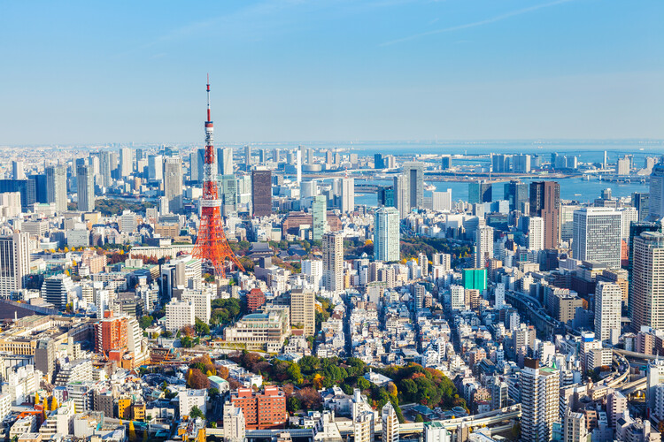 The 20 Largest Cities in the World: 2021 Edition, Tokyo By ESB Professional. Image via Shutterstock