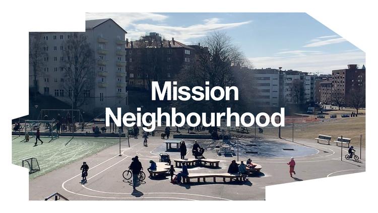 """La Trienal de Arquitectura de Oslo 2022 revela el tema del próximo año: """"Misión Barrio - (Re)formando comunidades"""", Cortesía de la Trienal de Arquitectura de Oslo"""