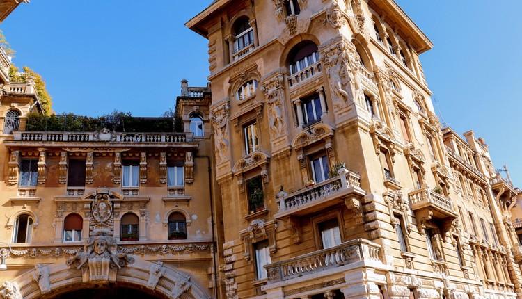 Quartiere Coppedè, Trieste, Roma. Créditos: Ágatha Depiné em Unsplash