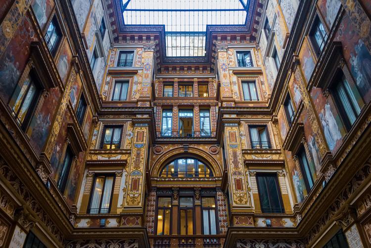 Galleria Sciarra, em Roma. Créditos: Ágatha Depiné em Unsplash