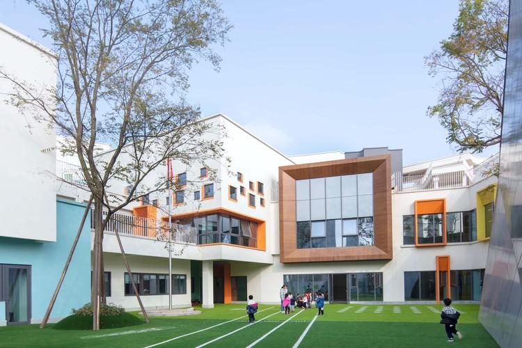 kindergarten facade. Image © Arch-Exist