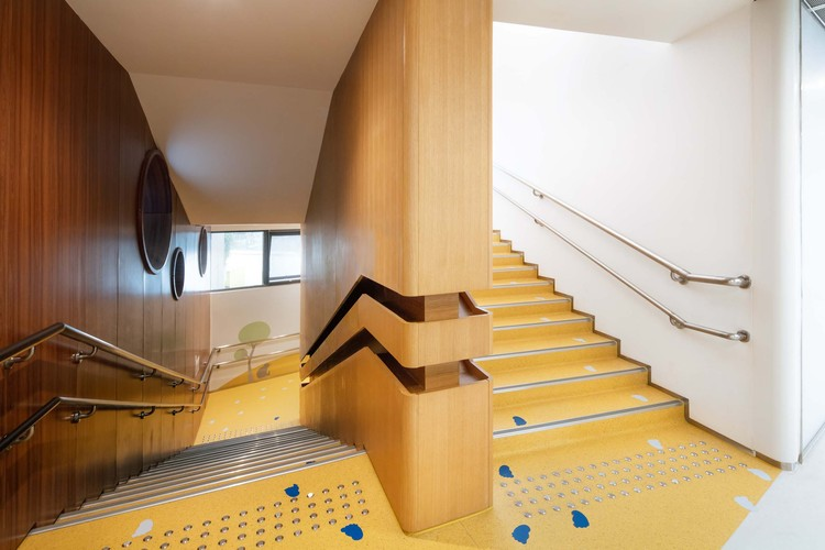 kindergarten staircase. Image © Arch-Exist