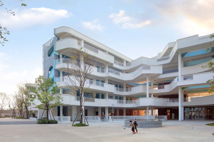 Hamilton Primary School & Kindergarten / Fusion Architects, connector. Image © Arch-Exist