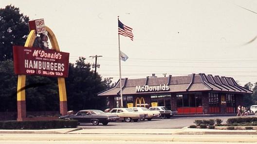 Mansard Roof McDonalds. Image via Nonstandard McDonalds- Twitter