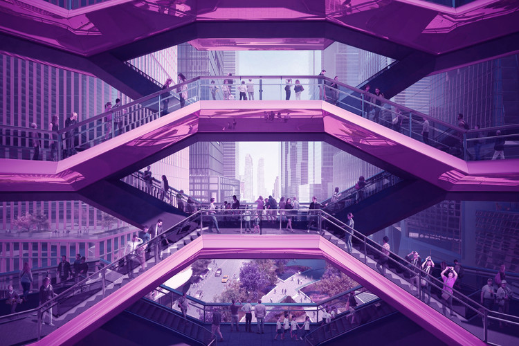 Architectural Rendering and the Slippery Slope of the Uncanny Valley, Collage by Matthew Maganga. Image Courtesy of Forbes Massie-Heatherwick Studio