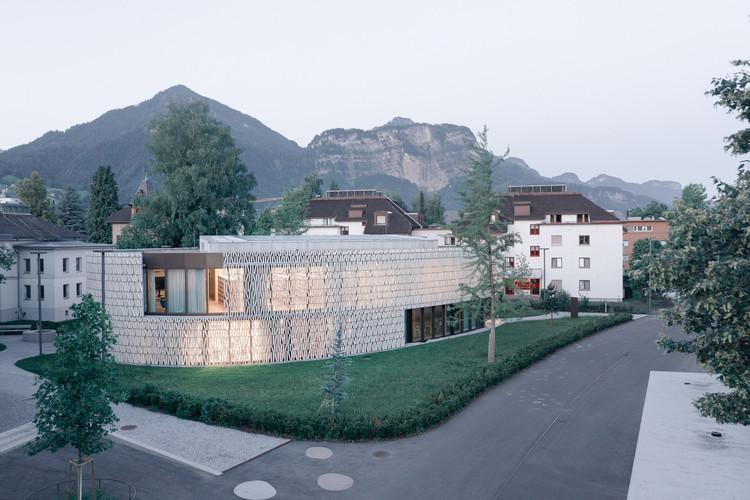 Public Library Dornbirn  / Dietrich | Untertrifaller Architekten + Christian Schmoelz Architekt, © Aldo Amoretti
