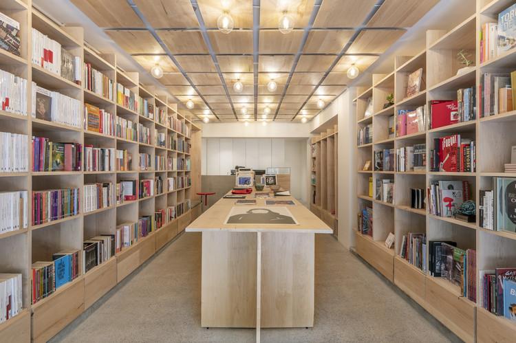 Librería La Increíble / MS Estudio, © Camila Cossio