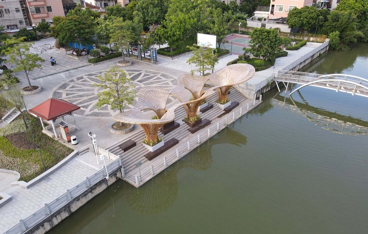 aerial view. Image © Ruibo Li