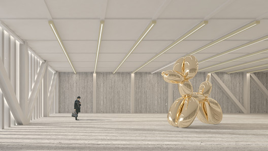 Render by Giovanna Bobbetti. Image Courtesy of CURA