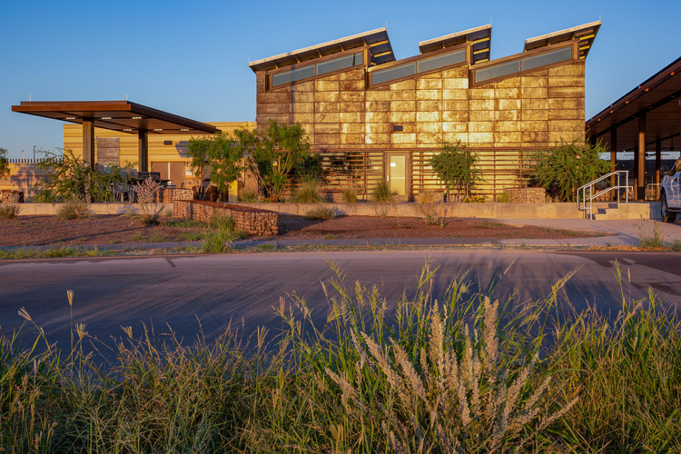 United States Land Port of Entry  / Richter Architects, © David Richter, FAIA