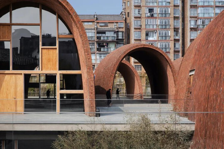Architectural Design Award Finalist: Jingdezhen Imperial Kiln Museum / Studio Zhu-Pei + THAD. Image via City for Humanity Award