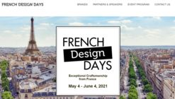 Second Edition of French Design Days Digital Event