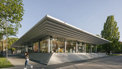 Tammsaare Park Pavilion / Kadarik Tüür Arhitektid