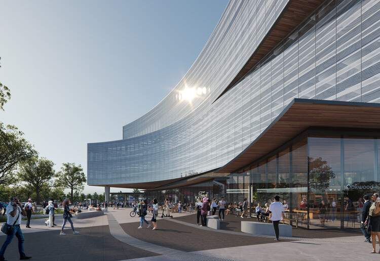 Snøhetta projeta edifício para o campus de pesquisa e engenharia da Ford em Michigan, Cortesia de Snøhetta & Plomp