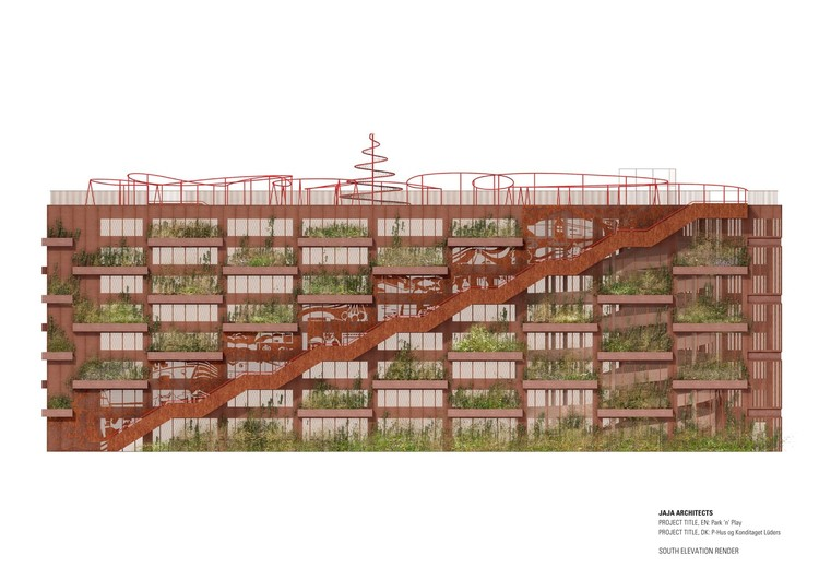 Park'n'Play by JAJA Architects.  Image courtesy of JAJA Architects
