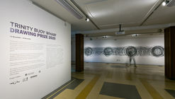 Trinity Buoy Wharf Drawing Prize - Working Drawing