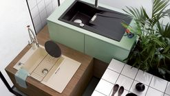 Kitchen Sink Design Meets the Godfather of Punk