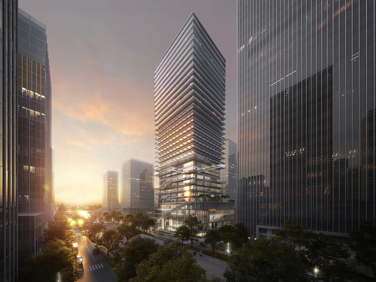 Ennead Architects to Design Dynamic Byte-Inspired Tower in Shenzhen , © Ennead Architects