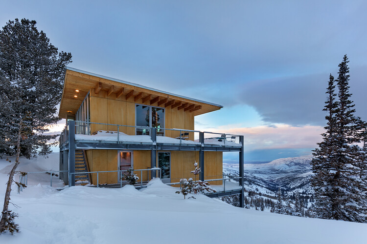 Chalet en Powder Mountain / Schemata Architects + Jo Nagasaka, © Melissa Kelsey