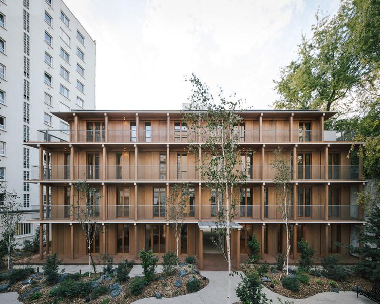 Paris XII Apartments  / MARS Architectes, ? Charly Broyez