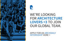 Call for ArchDaily Interns: Projects Team 2021