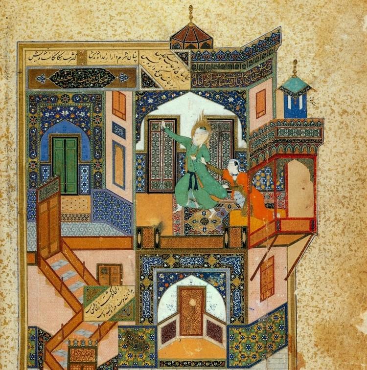Looking into Lost Persian Architecture through Safavid Manuscripts