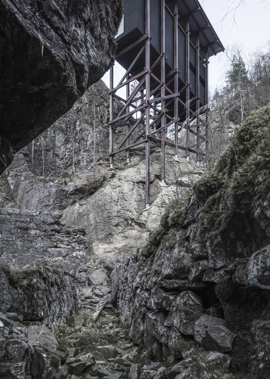 Mine Zinc Museum Norway - Architect Peter Zumthor - Photo Aldo Amoretti