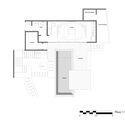 floor 1 plan - MARU House: Kiến trúc ấn tượng với những đường nét đơn giản và sự pha trộn vật liệu