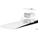 axonometric - MARU House: Kiến trúc ấn tượng với những đường nét đơn giản và sự pha trộn vật liệu