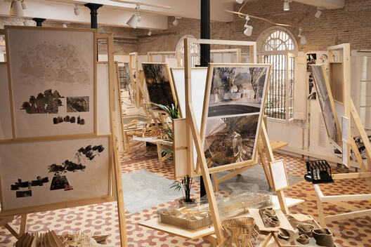 MIRALLES. To be continued.... Image © Fundació Enric Miralles