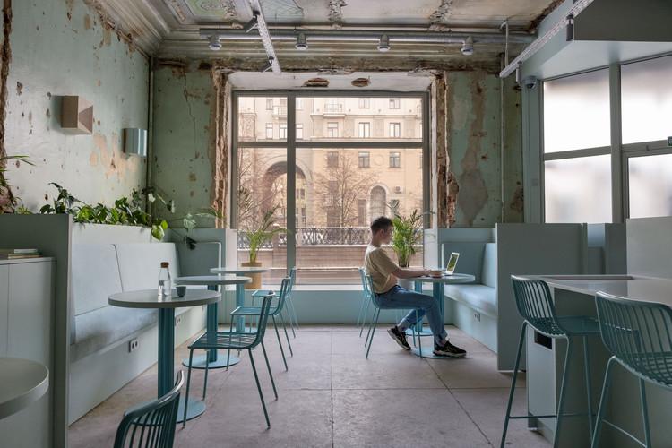 Zerno Coffee Shop by Studio 11. Image © Alexandra Ovseets