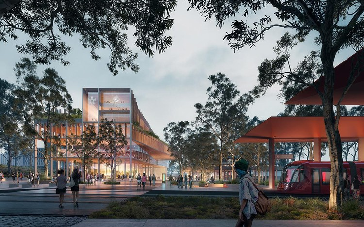 MGS and Turf Design $5 Billion University of Canberra Campus Masterplan Transformation, Courtesy of Doug and Wolf