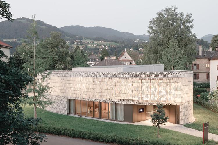 "Solarlux Choice 2021""Public Library, Dornbirn"" by Dietrich | Untertrifaller with Christian Schmoelz and collaborators. ImagePhoto © Aldo Amoretti"