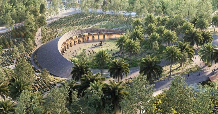 Ganadores del concurso para la creación del Centro de Cultura Ambiental en Chapultepec, Ciudad de México, © Erre Q Erre Arquitectura y Urbanismo