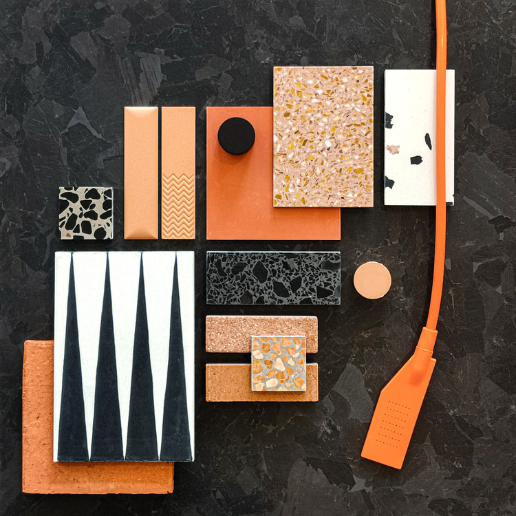 Created and portrayed by Materia 2.0, architectural materials library based in Como - Italy. Image © Materia 2.0