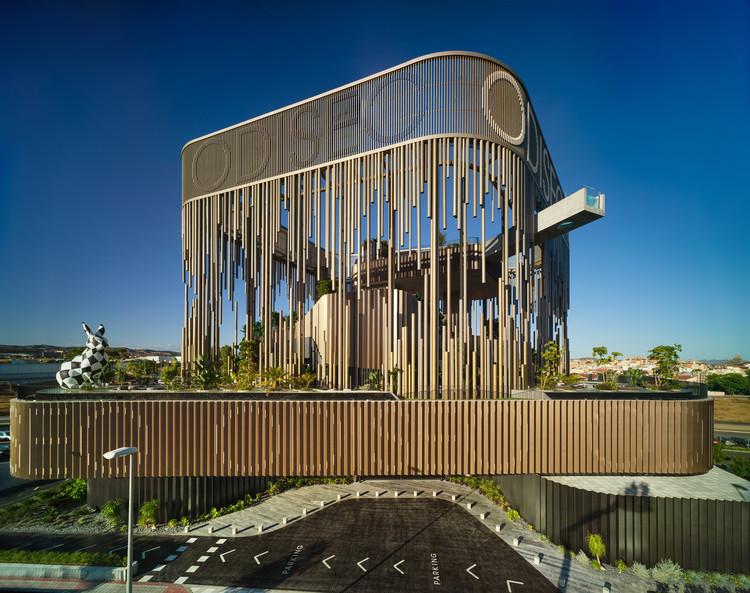 Centro Gastronómico y de Ocio Odiseo / Clavel Arquitectos, © David Frutos