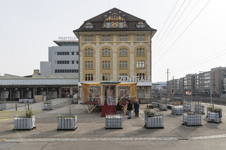 Mobile Forum - Mobile Forum in Pratteln, 2021. Image © The Swiss Pavilion team at the Venice Architecture Biennale