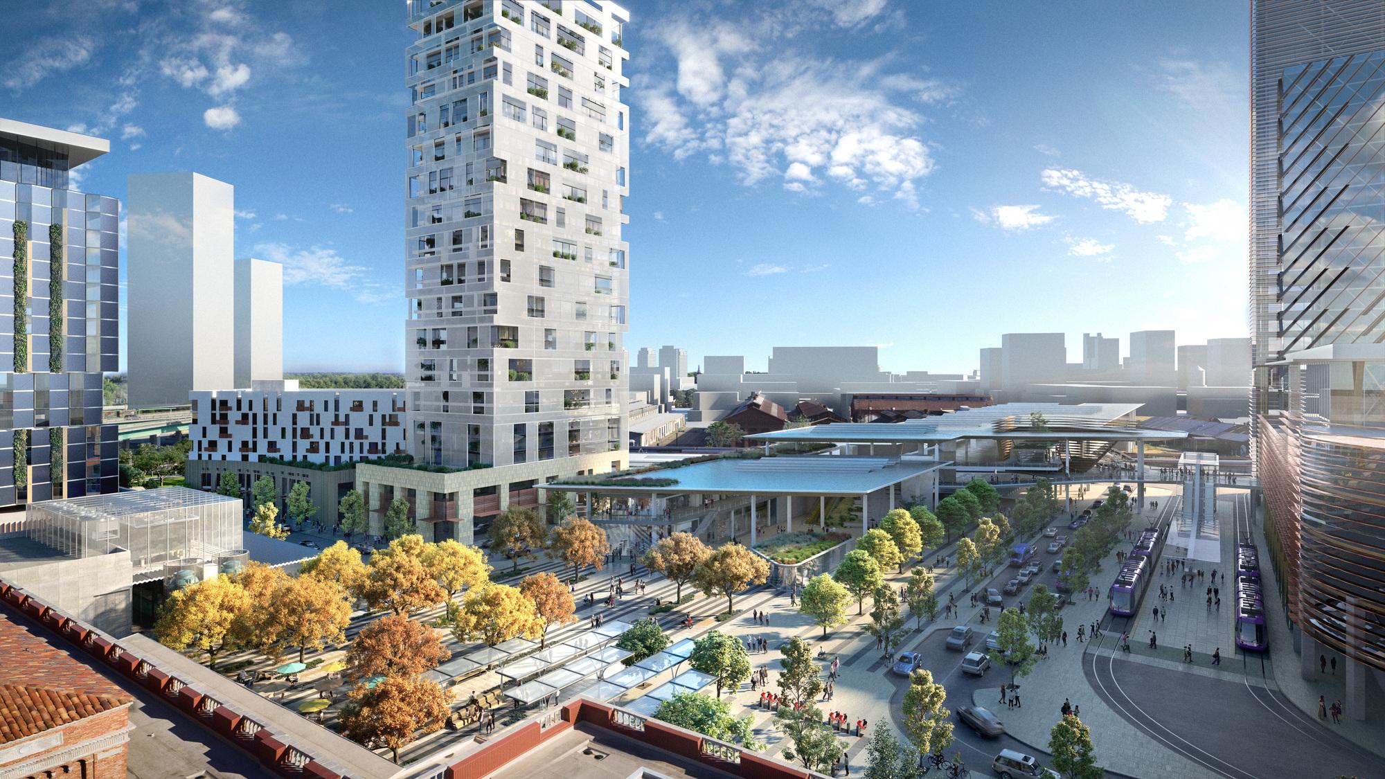 Gallery of Perkins&Will Transform Sacramento Valley Train Station into  Regenerative Master Plan - 6