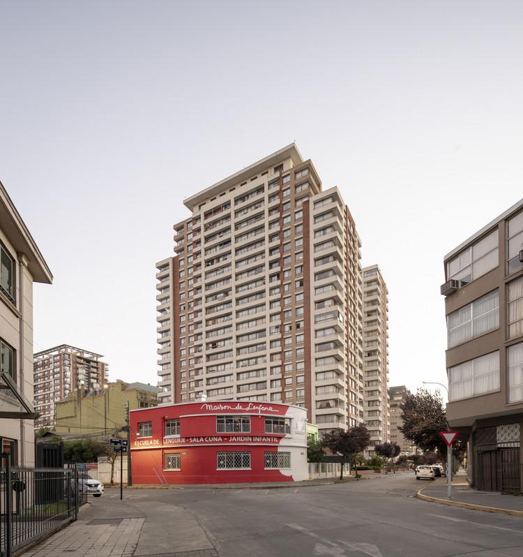 Concepción, la otra ciudad de torres, Torre en Concepción, Chile. Image © Gustavo Burgos
