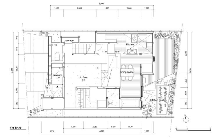 House In Shimogamo Td Atelier Endo Shojiro Design Archdaily
