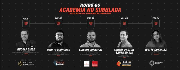 Rumbo a la BIALIMA 2021 - Martes de ruido: Academia no simulada