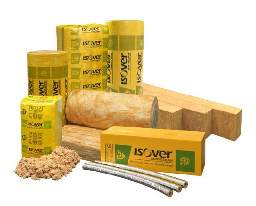 ISOVER Glass Wool Insulation . Image Courtesy of Saint-Gobain